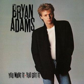 You Want It You Got It - Image: Bryan Adams YWIYGI
