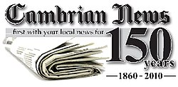 Cambrian News 150th Logo
