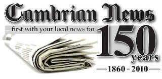 <i>Cambrian News</i> weekly newspaper
