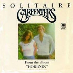 Solitaire (Neil Sedaka song) - Image: Carps Solitare