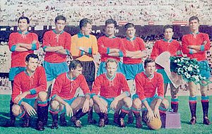 Calcio Catania - Catania during their second spell in Serie A, in the 1960s.