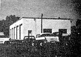 Township Board of Works five-bay service garage constructed in Walsh in 1950