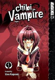 <i>Chibi Vampire</i> Japanese manga, light novel, and anime television series