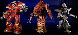 Races of StarCraft - The first series of action figures