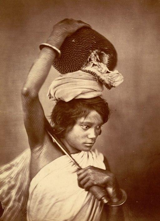 Company rule kochh mandai2 woman1860