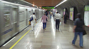 Consolacao subway station