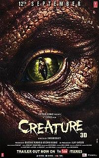 <i>Creature 3D</i> 2014 film by Vikram Bhatt