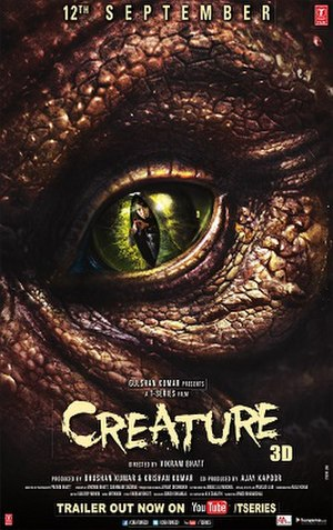 Creature 3D - Official poster