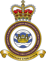 Defence Survive, Evade, Resist, Extract Training Organisation badge.png
