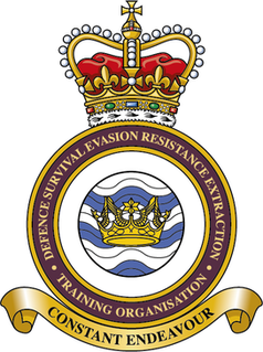 Defence Survive, Evade, Resist, Extract Training Organisation British military training organization