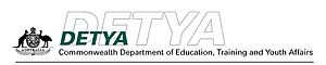 Department of Education, Training and Youth Affairs - Image: Department of Education, Training and Youth Affairs (Australia, 1998–2001) logo