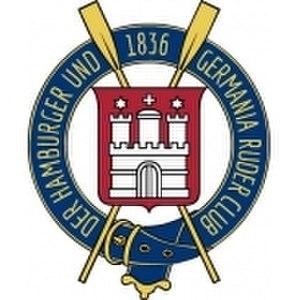 Der Hamburger und Germania Ruder Club - Image: Der Hamburger und Germania Ruder Club logo