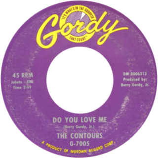 Do You Love Me single by The Contours