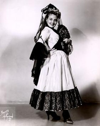 Dolores Wilson - Dolores Wilson as Rosina in 1954.