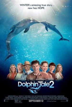 Dolphin Tale 2 - Theatrical release poster