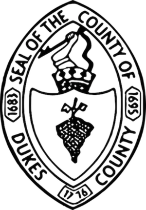 Dukes County, Massachusetts - Image: Dukes County, Massachusetts seal