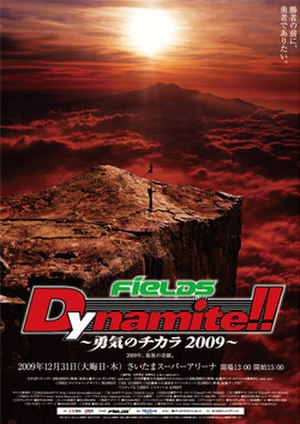 Dynamite!! 2009 - Image: Dynamiteposter