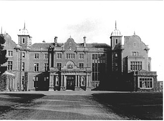 Easthampstead Park - The front of the house in 1936