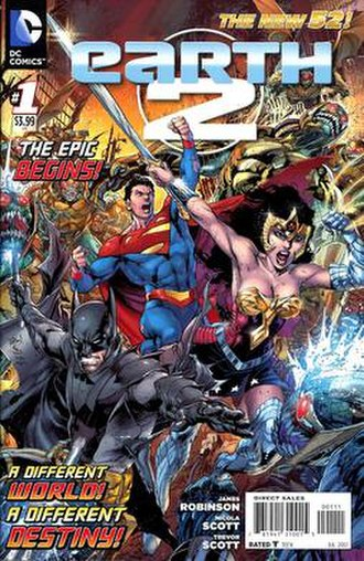 Earth-Two - Image: Earth 2 ongoing 01
