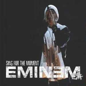 Sing for the Moment - Image: Eminem Sing for the Moment CD cover