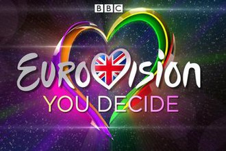 UK national selection for the Eurovision Song Contest - Original logo designed for the first Eurovision: You Decide show in 2016