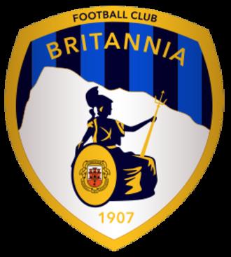F.C. Britannia XI - Image: FC Britannia XI logo