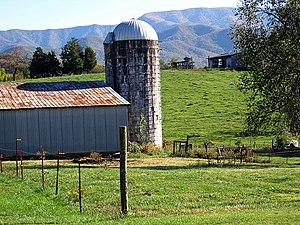 Greene County, Tennessee - Farm in eastern Greene County