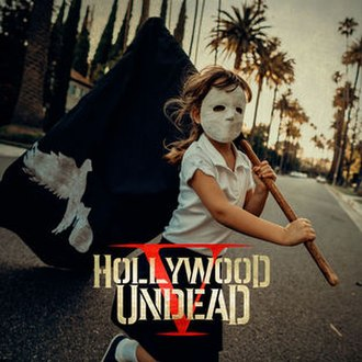 Five (Hollywood Undead album) - Image: Five Hollywood Undead Album