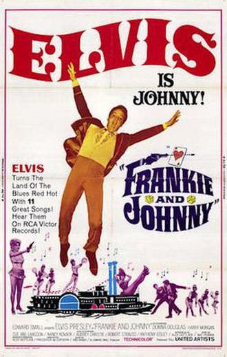 Frankie and Johnny (1966 film) - Image: Frankie and Johnny 1966 poster