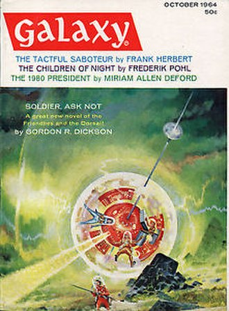 The Tactful Saboteur - Galaxy Science Fiction, October 1964