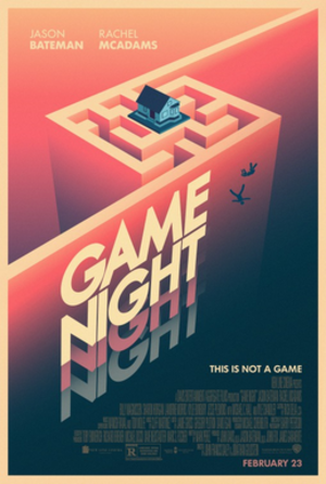 Game Night (film) - Teaser poster