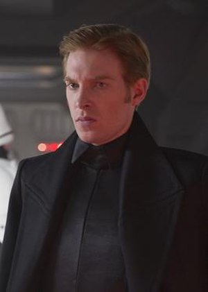 General Hux - Gleeson portraying Hux in  The Force Awakens (2015)
