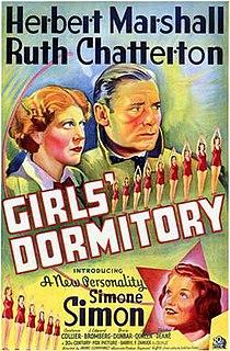 <i>Girls Dormitory</i> 1936 film by Irving Cummings