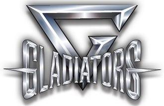 Gladiators (1992 UK TV series) - Image: Gladiators logo