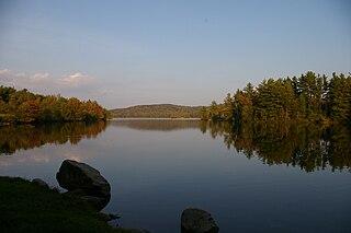 Grafton Pond lake of the United States of America