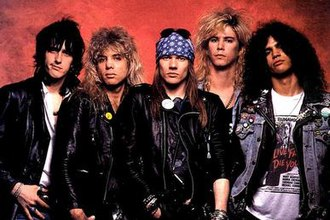 Appetite for Destruction - Image: Guns N Roses 1987