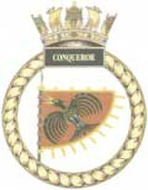 HMS Conqueror (S48) - Image: HMS Conqueror crest