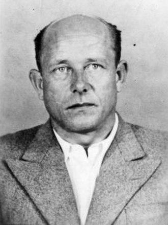 Hermann Höfle - Höfle following his arrest in 1961.