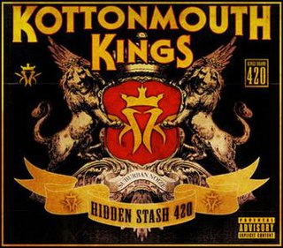 <i>Hidden Stash 420</i> 2009 compilation album by Kottonmouth Kings