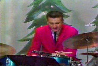 Johnny Klein - Drummer Johnny Klein of the Lawrence Welk Show