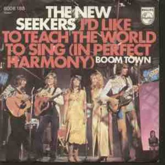 I'd Like to Teach the World to Sing (In Perfect Harmony) - Image: I'd Like to Teach
