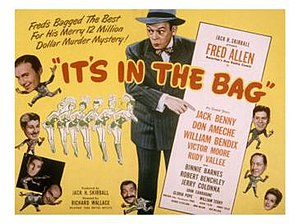 It's in the Bag! (1945 film) - Theatrical release poster