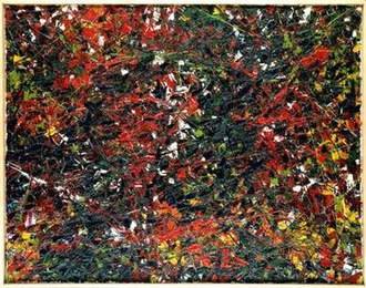 Jean-Paul Riopelle - Jean-Paul Riopelle, 1953, Untitled, oil on canvas, 114 x 145 cm (44.9 by 57 in.), Museum of Fine Arts of Rennes, France
