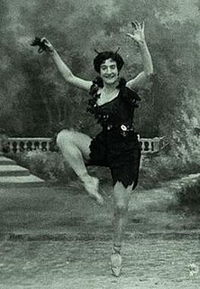Jeanne Chasles French dancer and choreographer