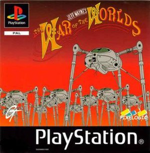 Jeff Wayne's The War of the Worlds (1999 video game) - Cover art