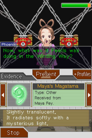 Phoenix Wright: Ace Attorney − Justice for All - Image: Justice for All psyche locks