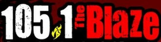 KKBZ - Image: KKBZ FM 105.1 The Blaze logo