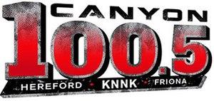 KNNK - Image: KNNK Canyon 100.5 logo