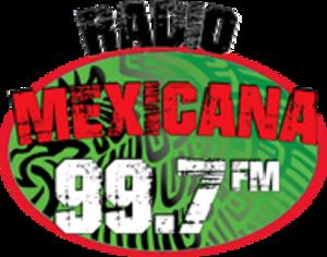 KTOR - Image: KTOR Radio Mexicana 99.7FM logo