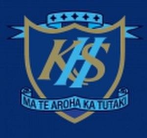 Kaiapoi High School - Image: Kaiapoi High School logo